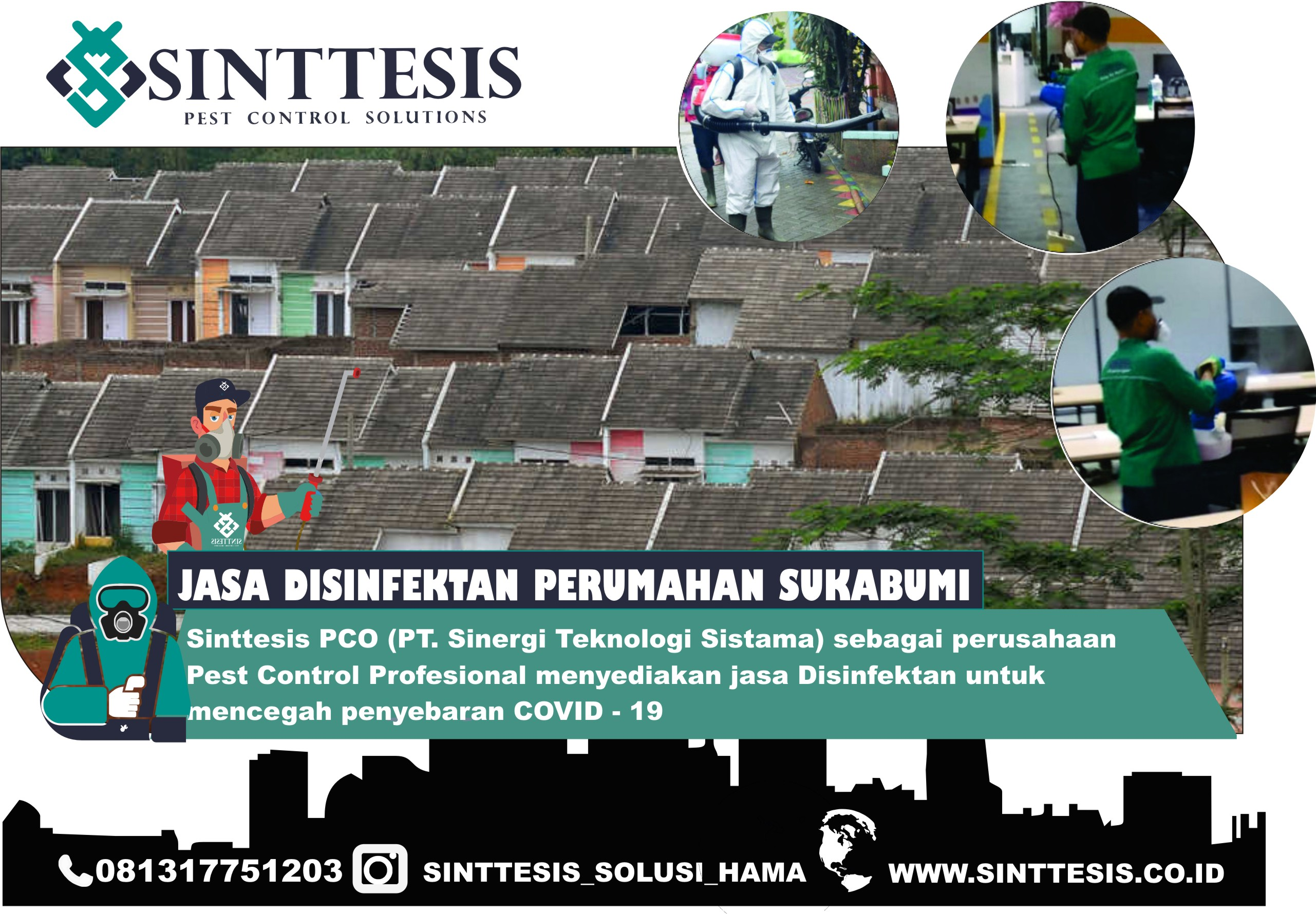 Jasa Disinfektan Perumahan di Sukabumi