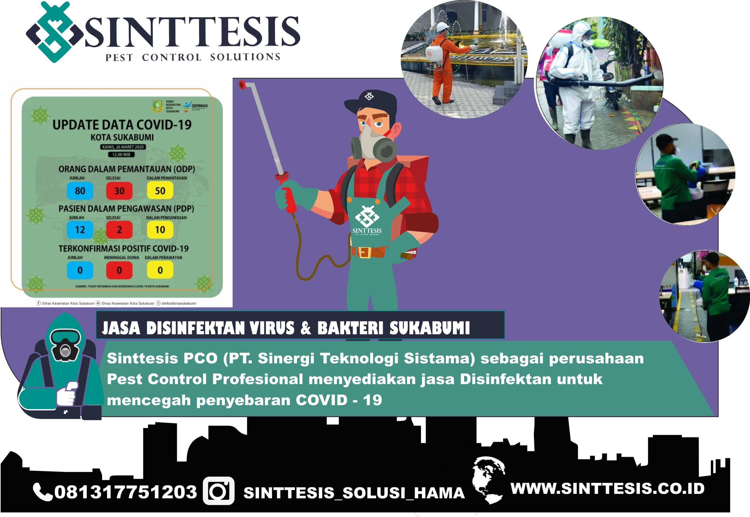 Jasa Disinfektan di Sukabumi