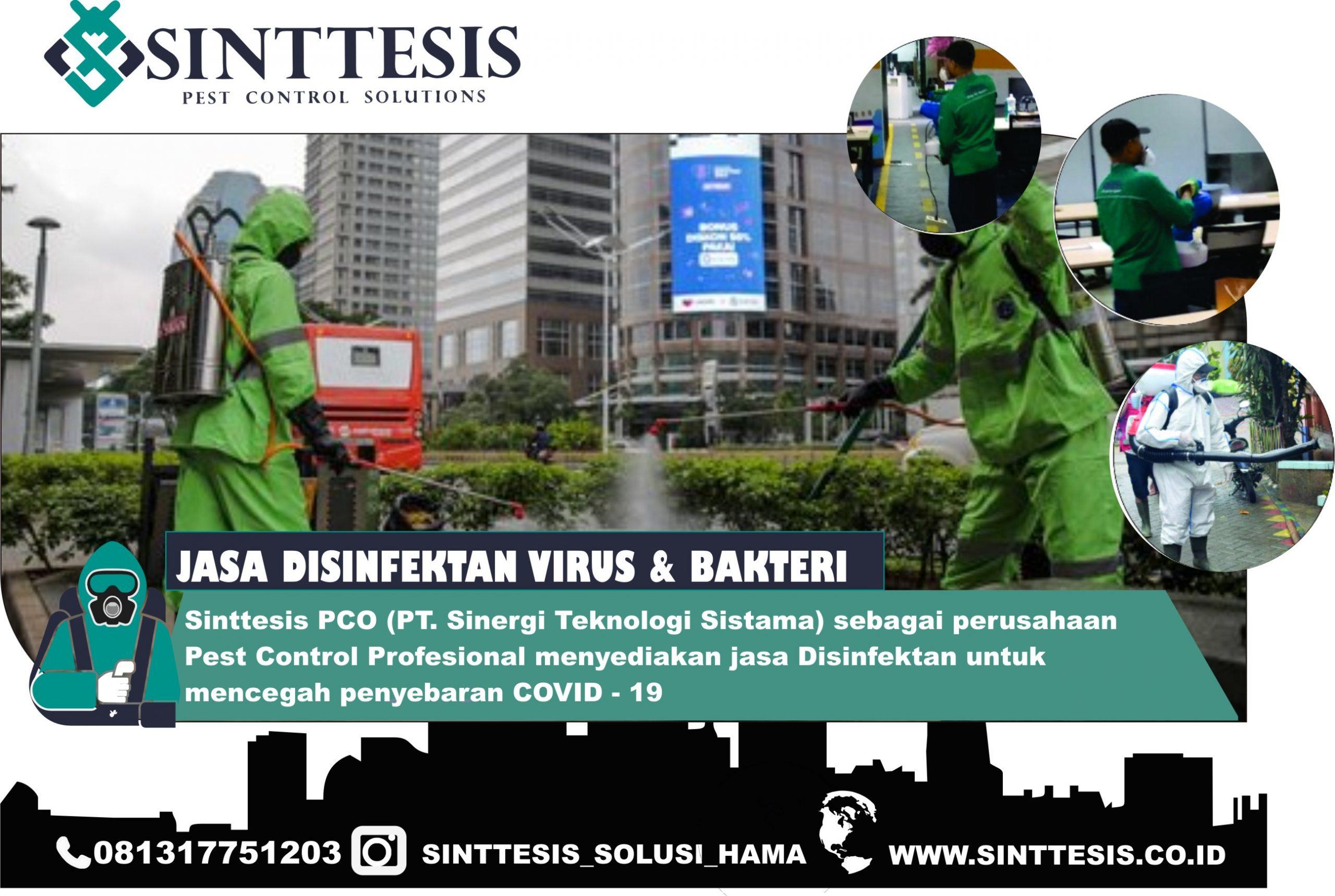 Jasa Penyemprotan Disinfektan Jakarta