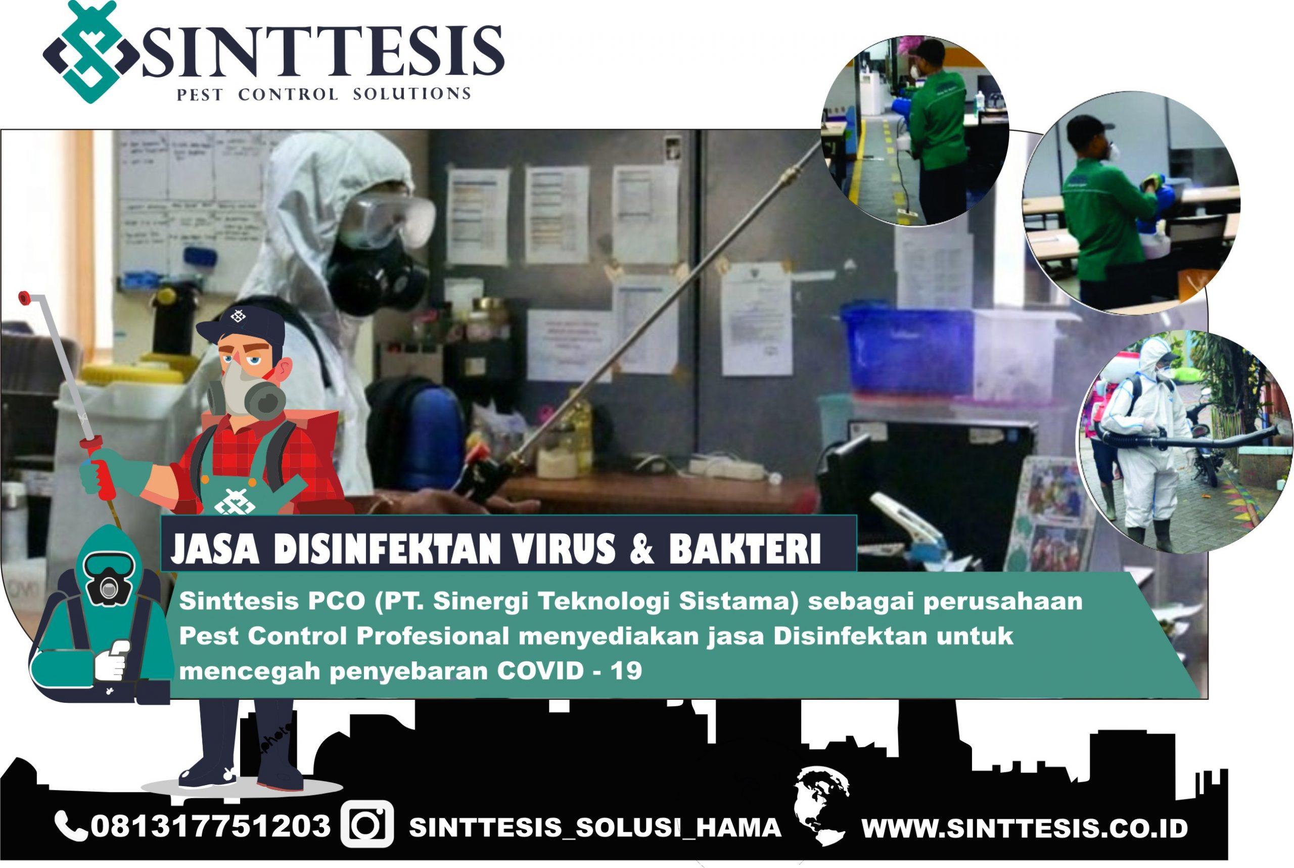 Jasa Disinfektan Rumah Jakarta
