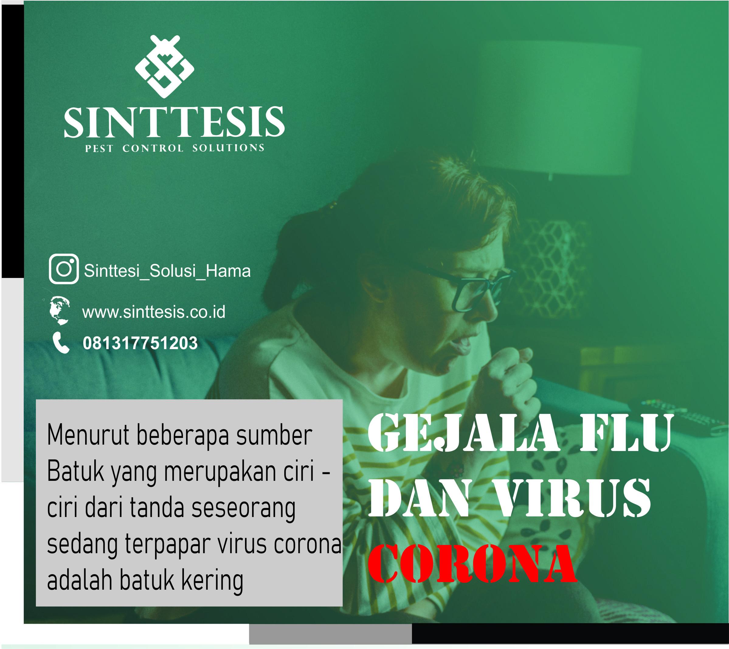 Gejala Flu dan Virus Corona