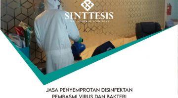Jasa Penyemprotan Disinfektan di Jababeka