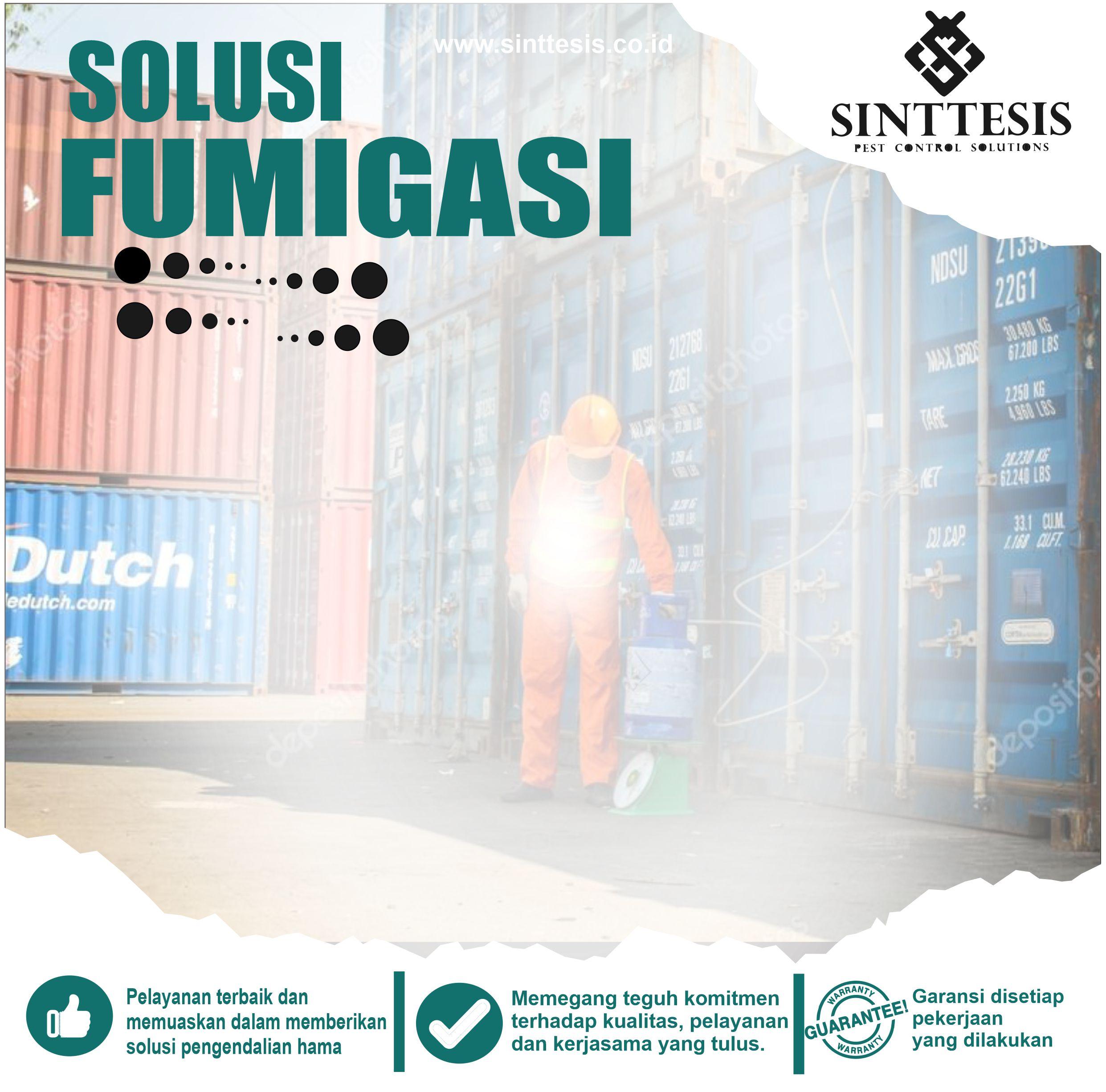 Jasa Fumigasi Jabodetabek dan Sukabumi