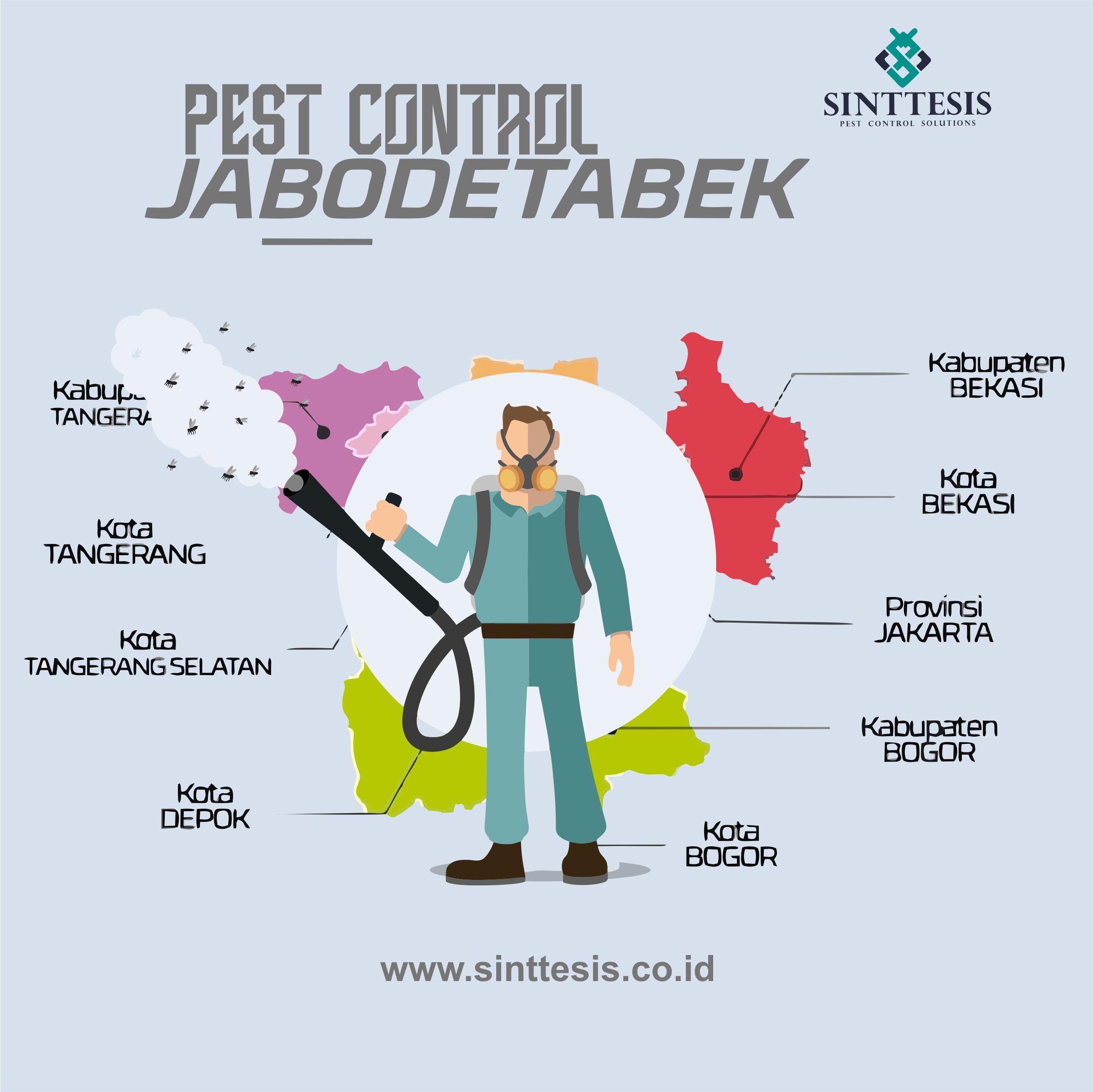 Perusahaan Pest Control di Jabodetabek dan Sukabumi