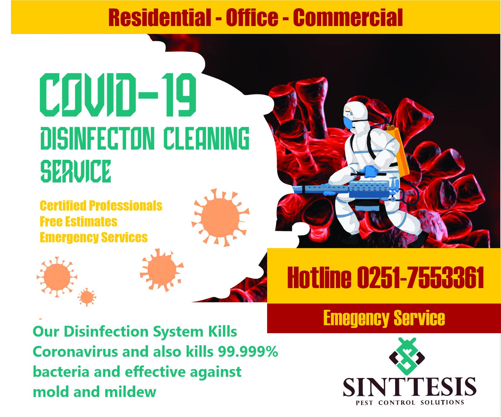 Fogging Disinfeksi Virus dan Bakteri
